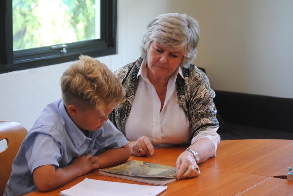 Secondary Tutoring Prepartion With Boy and Julie
