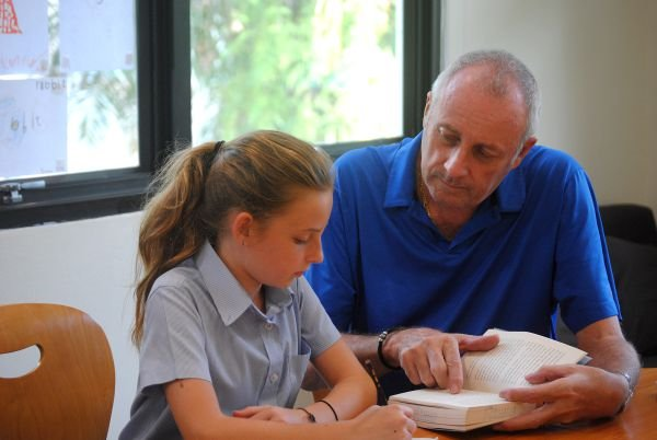 Secondary Tutoring Preparation With Girl By Stewart